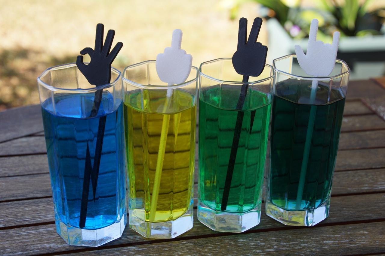 Mélangeurs cocktail main