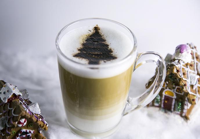 Déco café sapin
